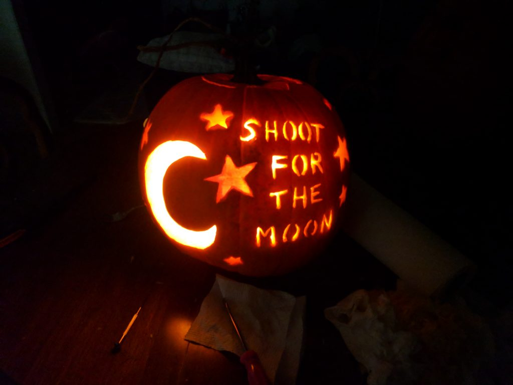 Inspirational Pumpkin