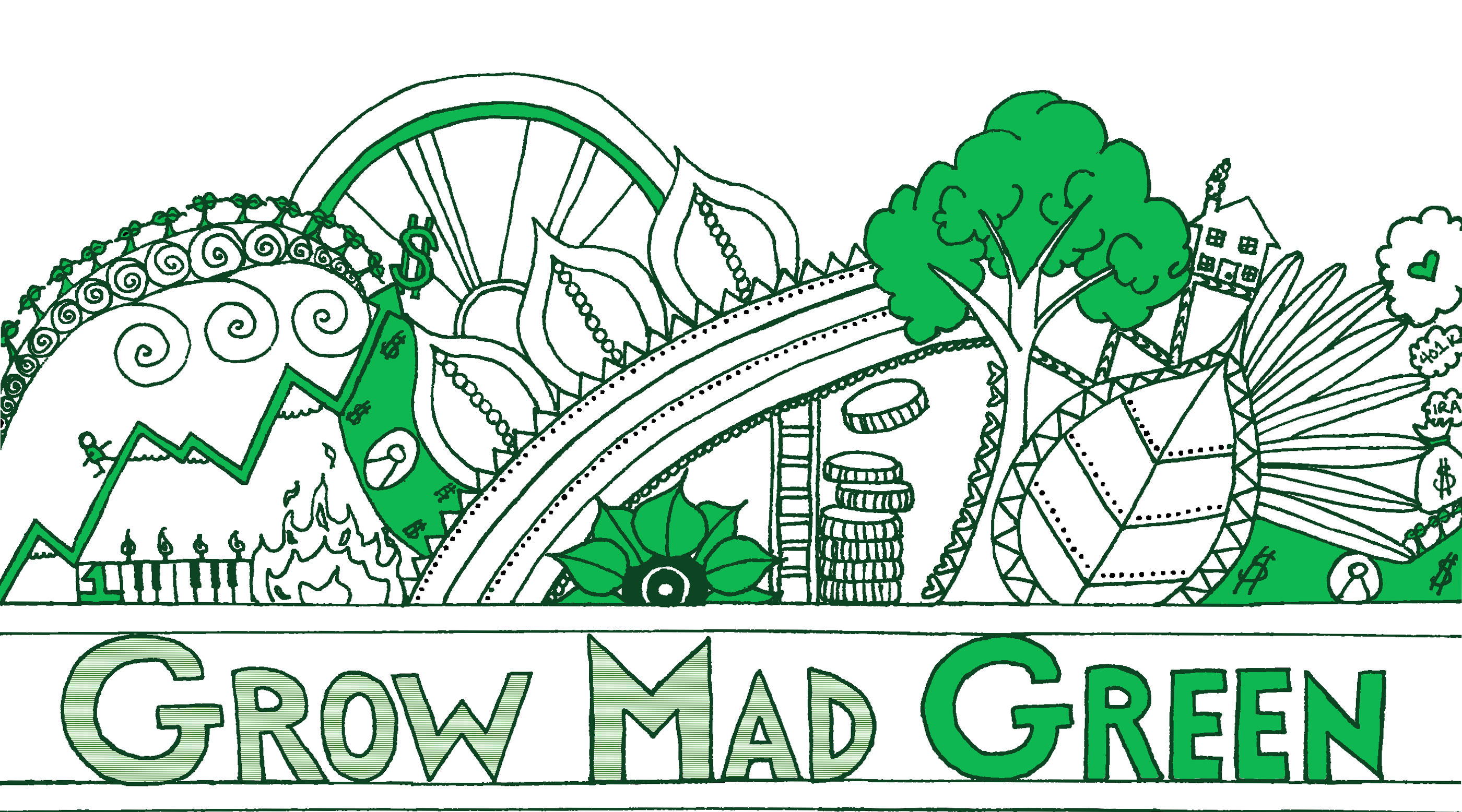 Grow Mad Green